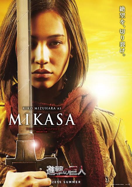 進撃の巨人 ATTACK ON TITAN Mikasa Kiko Mizuhara