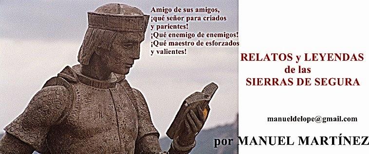 RELATOS Y LEYENDAS de las SIERRAS DE SEGURA