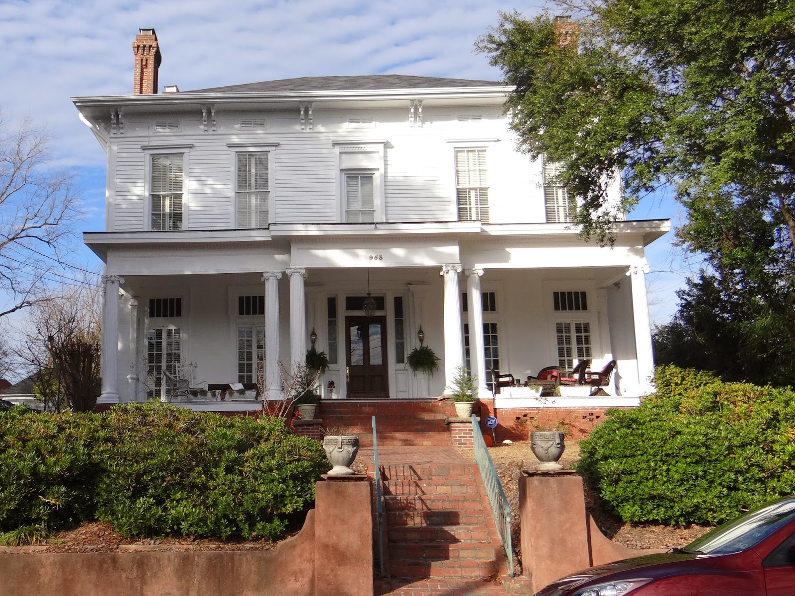 Walkabout with wheels blog historic homes in macon georgia for Home builders macon ga