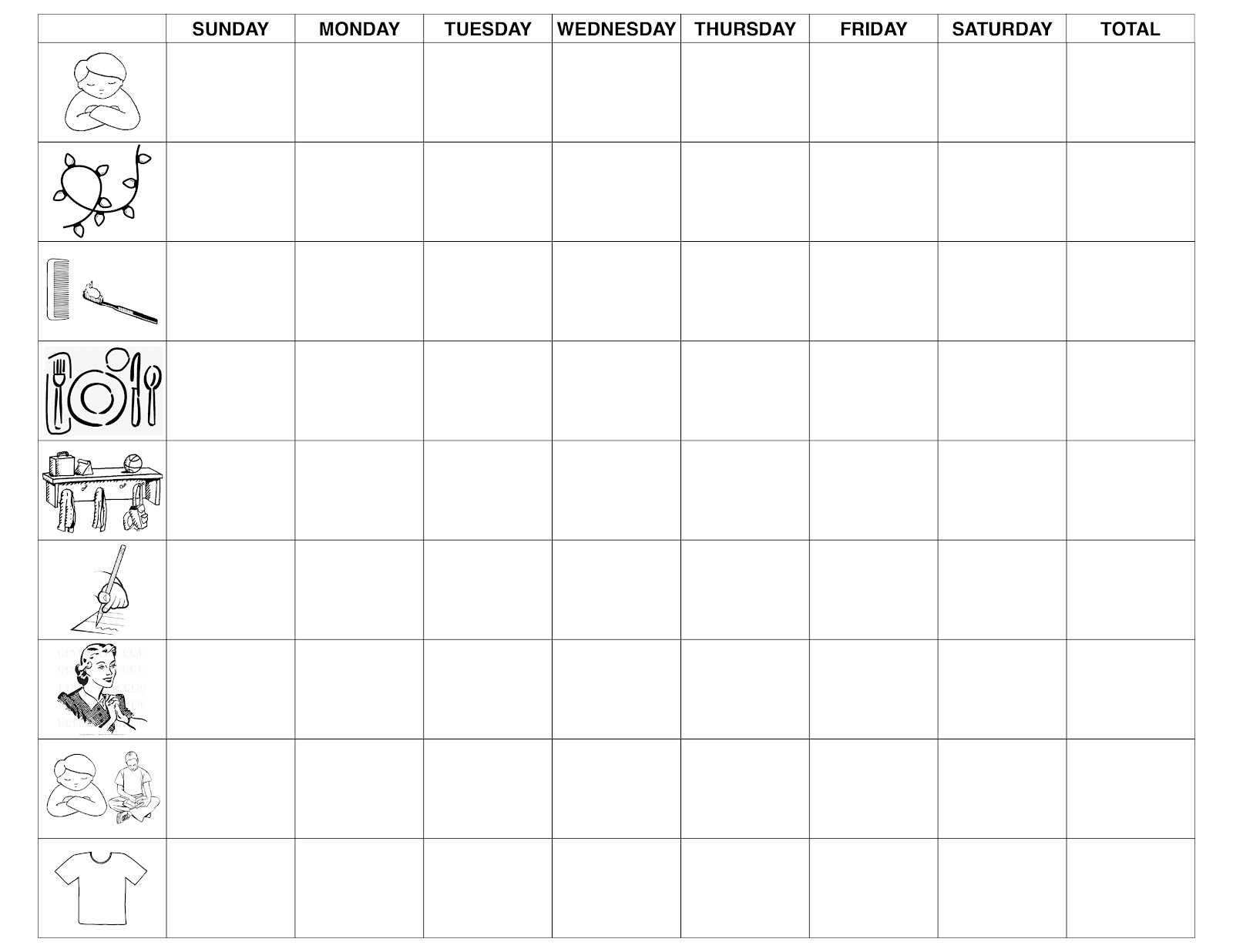 High Quality Medusa Is Meddling: Daily Routine For Kids. Daily Routine Chart For Kids  Template
