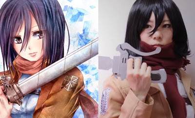 Perfect Mikasa Ackerman Cosplay 09
