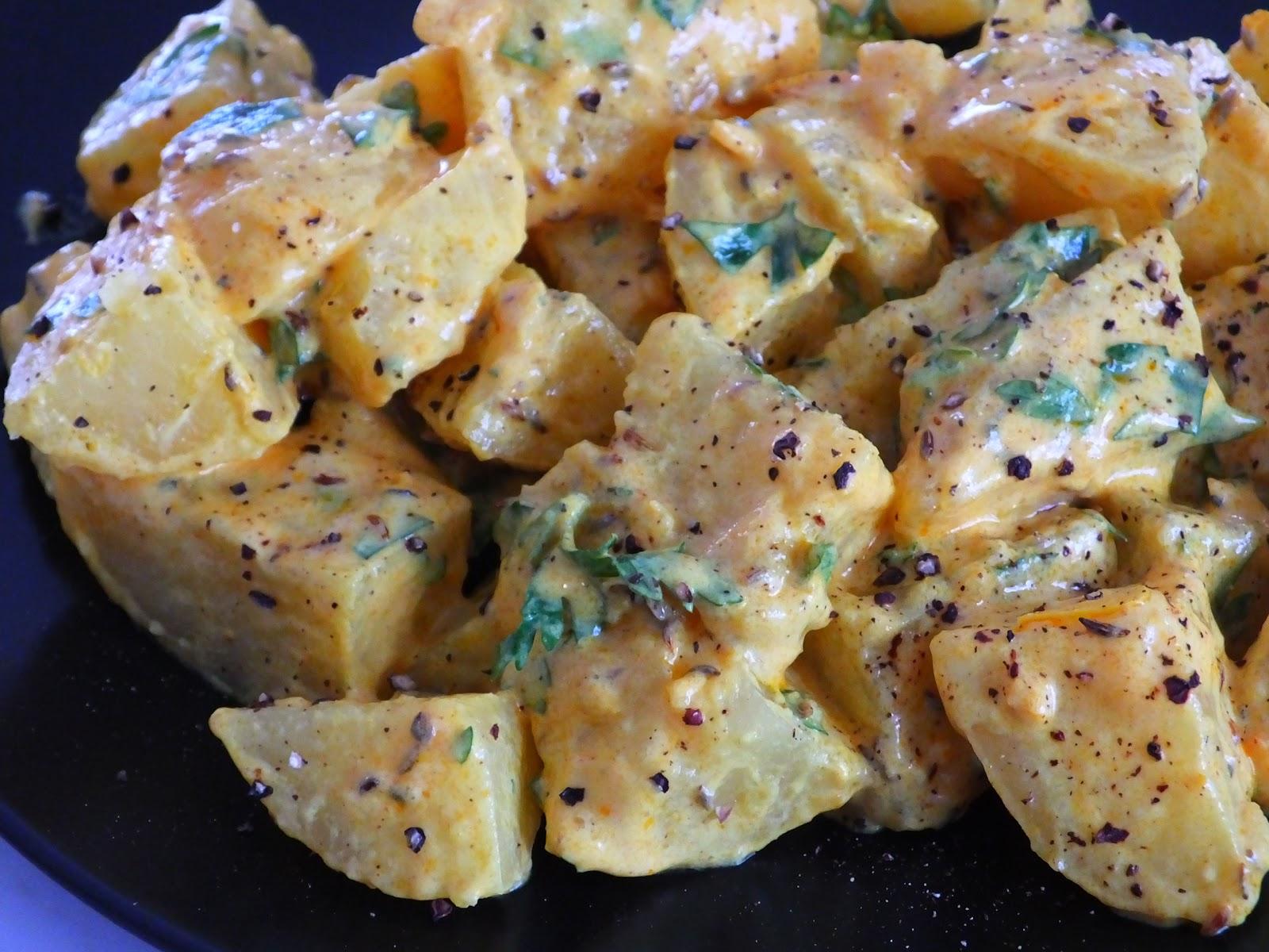 Ziemniaki z kurkumą i kminkiem