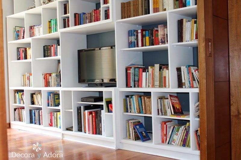 DIY pintar biblioteca