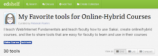 My favorite tools for Online-Hybrid Courses