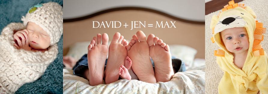 David + Jen = Max