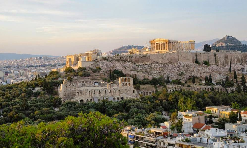 Acropolis Of Athens, Athens, Greece Famous European Places, Most Famous Places in Europe