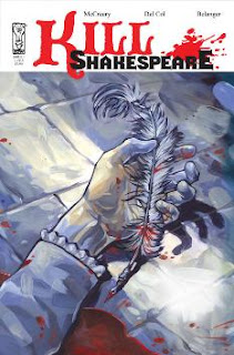 Book cover of Kill Shakespeare Vol. 1 by Conor McCreery, Andy Belanger, Anthony Del Col