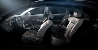 new chevrolet cruze facelift interior and seating