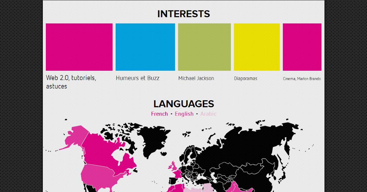cr u00e9er une infographie interactive de votre cv  outil gratuit