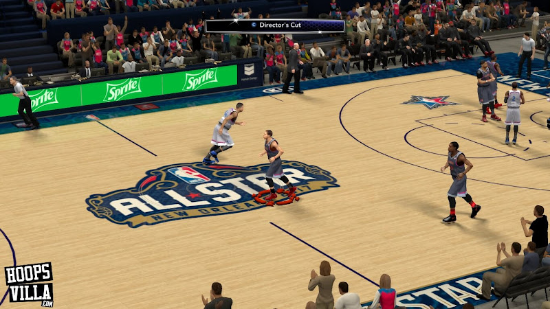 NBA 2k14 Roster update - January 28, 2017 - All Star 2017 Fictional New Orleans Court - HoopsVilla
