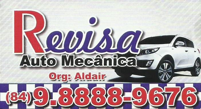 Em Mossoró Mecânica é na Revisa, contato com Aldair Monteiro telefone (84) 98888-9676 / 99879-6504