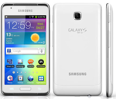 download free firmware specification Samsung GALAXY S WiFi 4.2