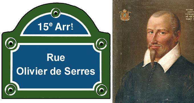 H raldie les rues du 15e arrondissement 13 - Olivier de serres ensaama ...