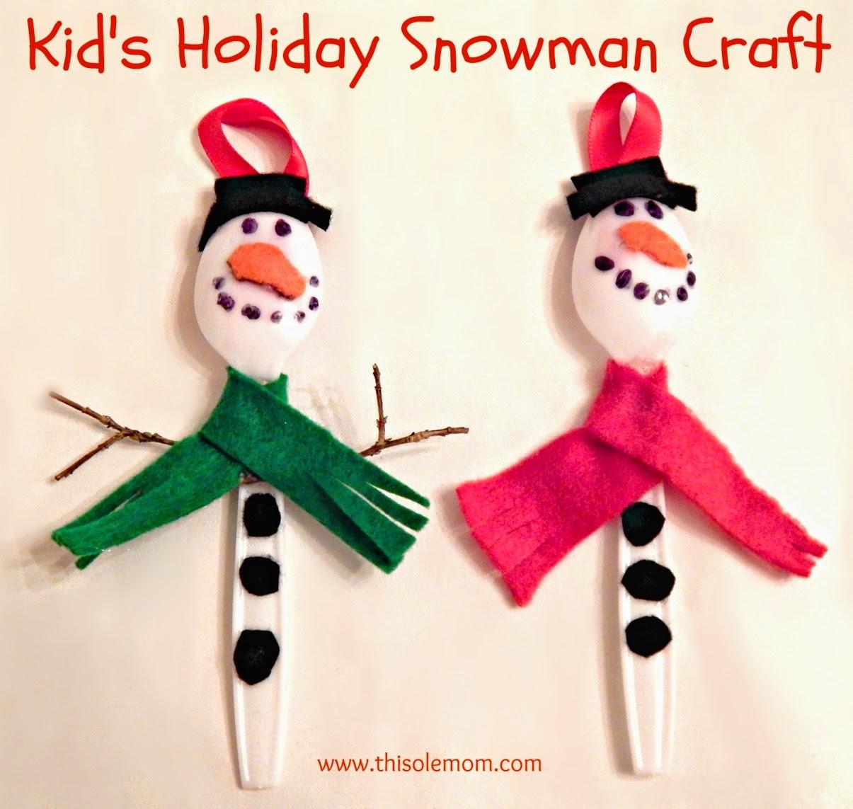 Snowmen, Snowman Craft , Christmas Ornament ideas, Snowman Ornament