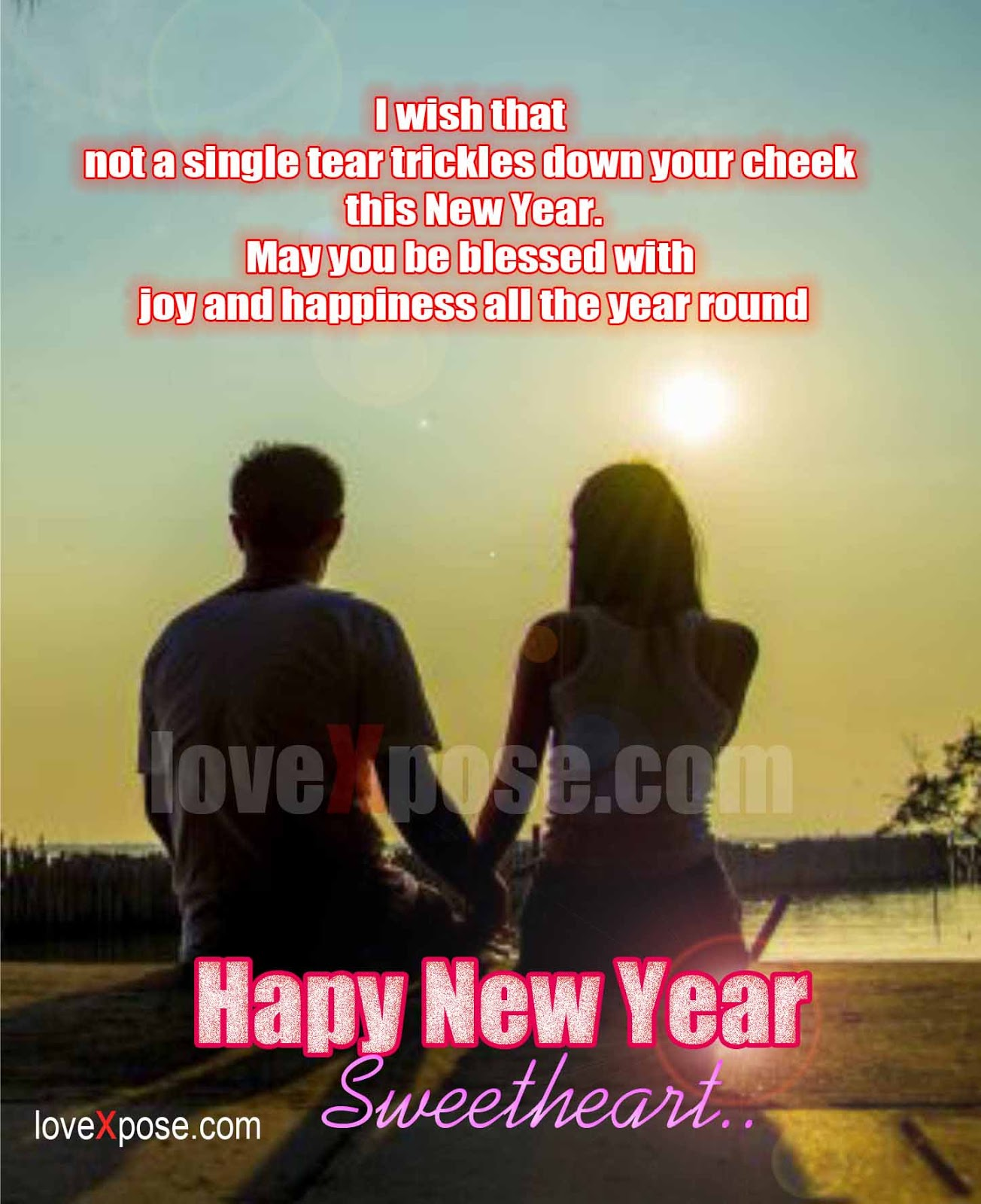 romance new year love best so sweet