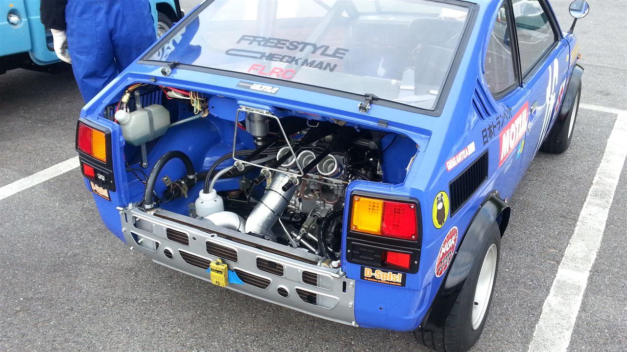 Suzuki Fronte Coupe LC10W, klasyczne kei car, samochody z lat 70, japońska motoryzacja, zdjęcia, galeria, fotografie