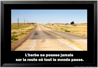 Citation proverbe vie en image