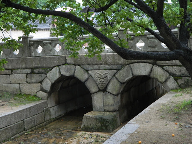 The Forbidden Stream in the Changgyeong palace in Seoul