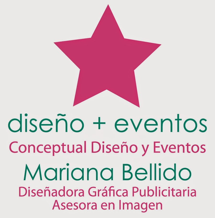 Mariana Bellido::Diseñadora Gráfica Publicitaria:: Eventos