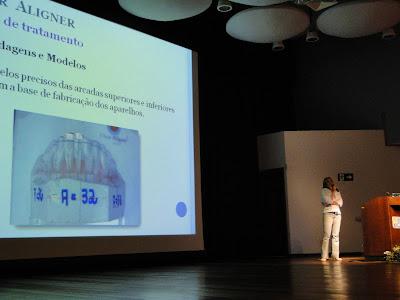 DSC03555 - Dra. Andrea Martinez dá palestra do Clear Aligner na Puc Campinas