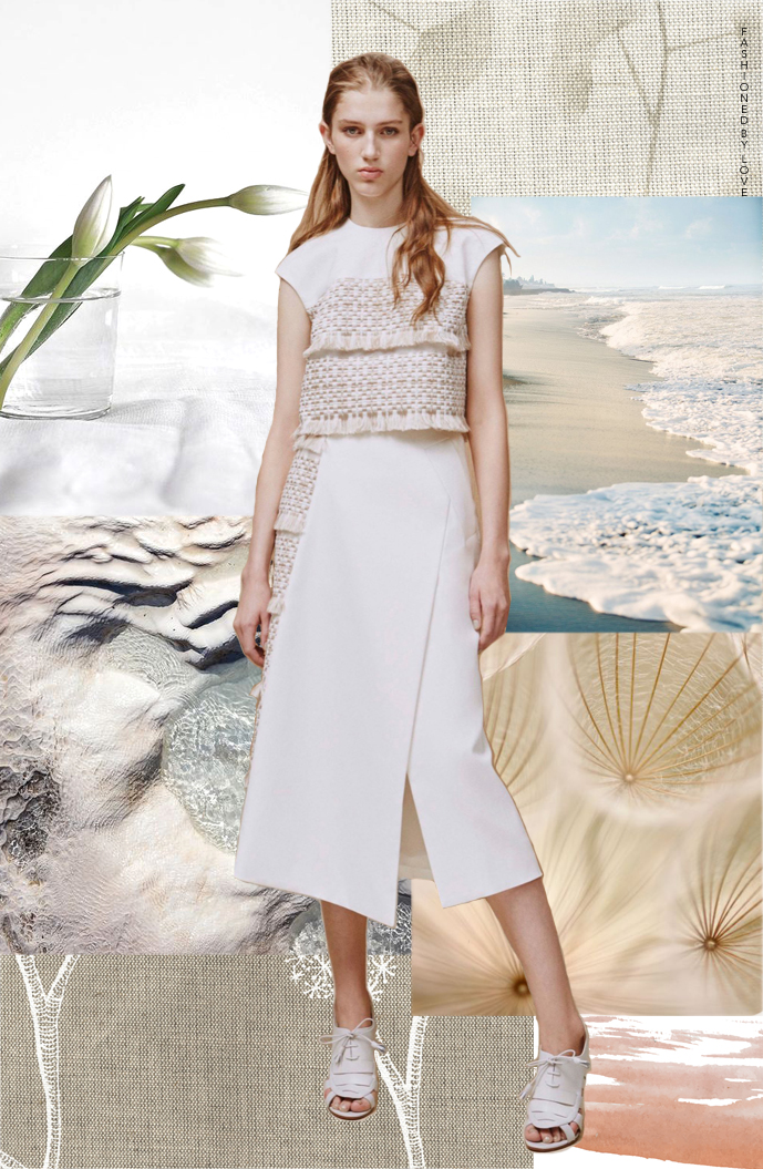 Adeam Resort 2016, Jill Stuart Resort 2016, Ralph Lauren Resort 2016, Thakoon Resort 2016, Tess Giberson Resort 2016 - best looks of resort 2016 inspired by organic and natural fabrics and living. Via fashioned by love / british fashion blog