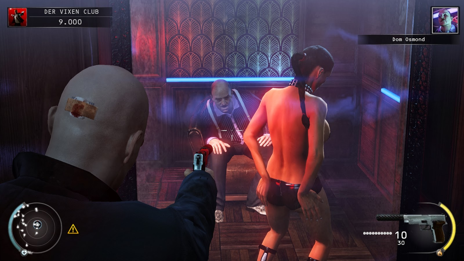 Hitman absolution nude mods porn scenes