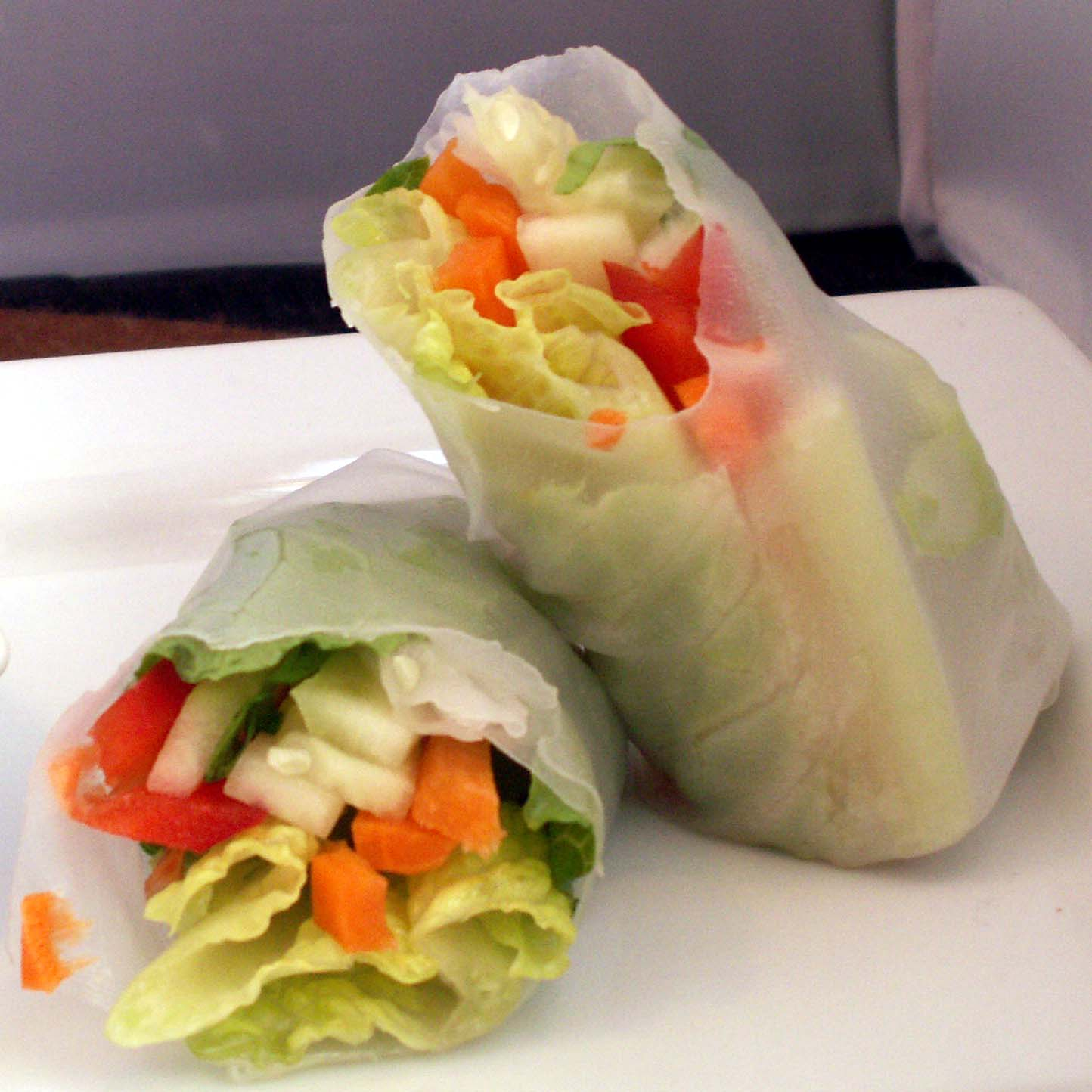 Mom, What's For Dinner?: Vegetable Spring Rolls (gluten free)
