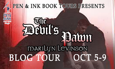 http://www.penandinkbooktours.com/tour/tour-sign-up-the-devils-pawn-by-marilyn-levinson/