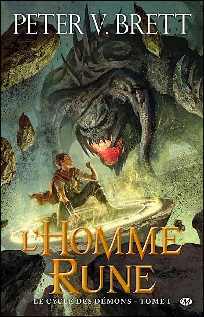 Le cycle des démons T1 : L'homme Rune de Peter V. Brett