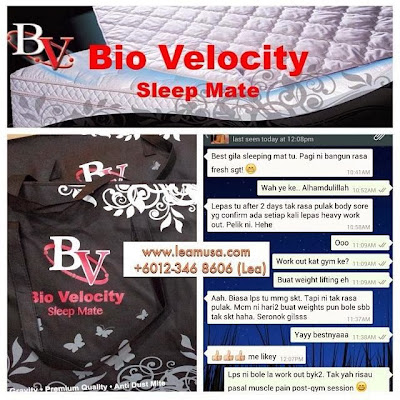 Biovelocity Sleepmate Info dan Testimoni, Biovelocity sleepmate, Pelapik tilam biovelocity, BioVelocity Agent, Harga Biovelocity, Jual Biovelocity Sleepmate, Biovelocity murah, Biovelocity original, Pelapik tilam biovelocity, Pelapik tilam garam laut, Pelapik tilam haio, Fungsi pelapik tilam bio velocity, Fungsi Bvsm, Sifat tenaga semulajadi, Sifat tenaga BV, Siapa yang sesuai guna BVSM, BVSM, Penjagaan Bio Velocity, Penjagaan BVSM, Testimoni BVSM, Testimoni Bio Velocity Sleepmate