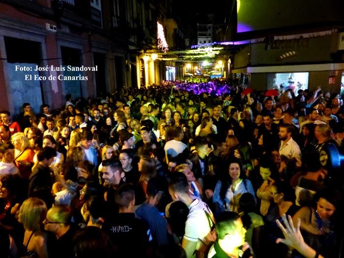nochevieja agosto 2014 barrio de vegueta las palmas de gran canaria
