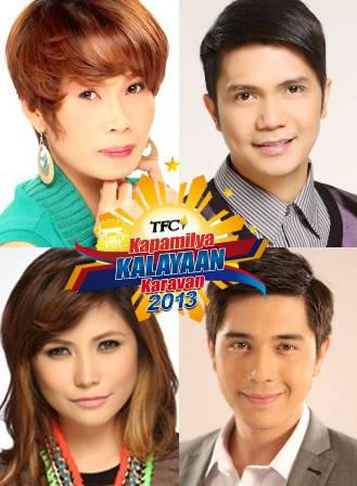 Pokwang, Vhong, Yeng and Paulo Graces Independent Day Celebrations in the Middle East