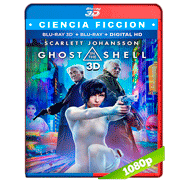 La vigilante del futuro: Ghost in the Shell (2017) 3D SBS 1080p Audio Dual Latino-Ingles