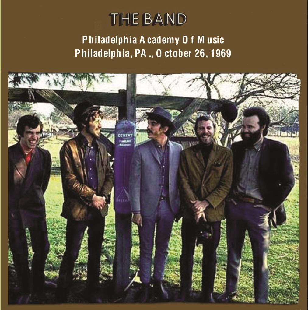 music ruined my life: The Band: Philadelphia Academy Of Music (