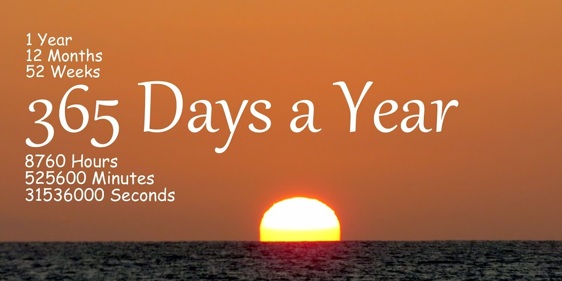 Our Journey Through LIFE...365 Days a Year!
