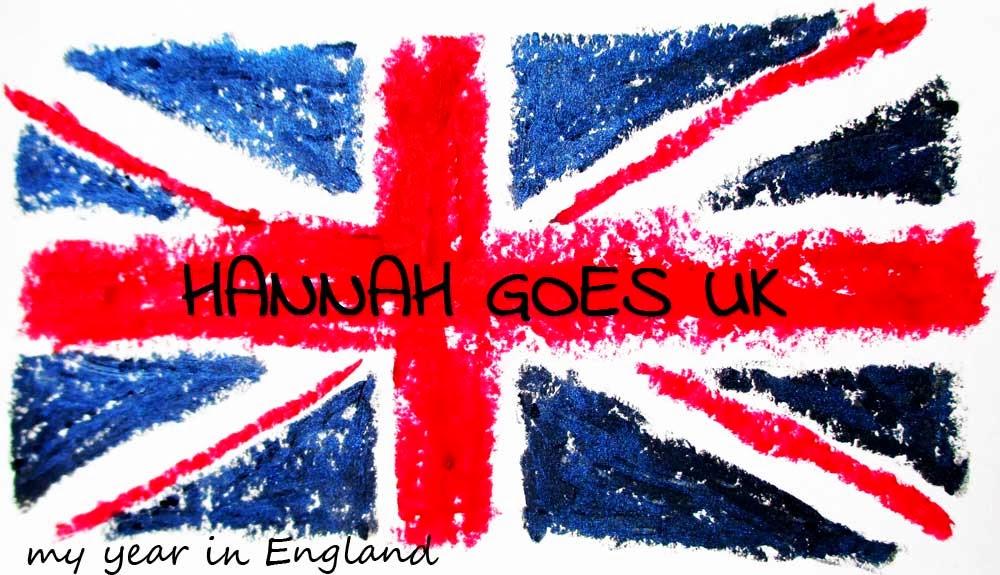HANNAH GOES UK