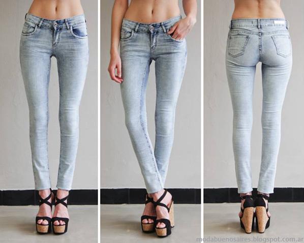 Pantalones de verano jeans Sweet 2014.