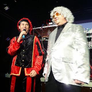 Frank Gerber et Hans-Hermann Hess, les organisateurs du festival Electronic Circus 2013, Gütersloh / photo S. Mazars
