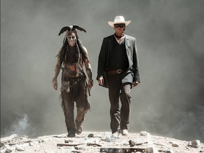Armie Hammer, Johnny Depp, Lone Ranger