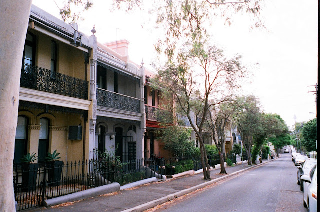 Terraces Paddington Oxford Sydney