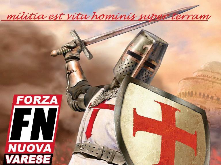 """Forza Nuova Varese - Cuib """"BARBAROSSA"""""""