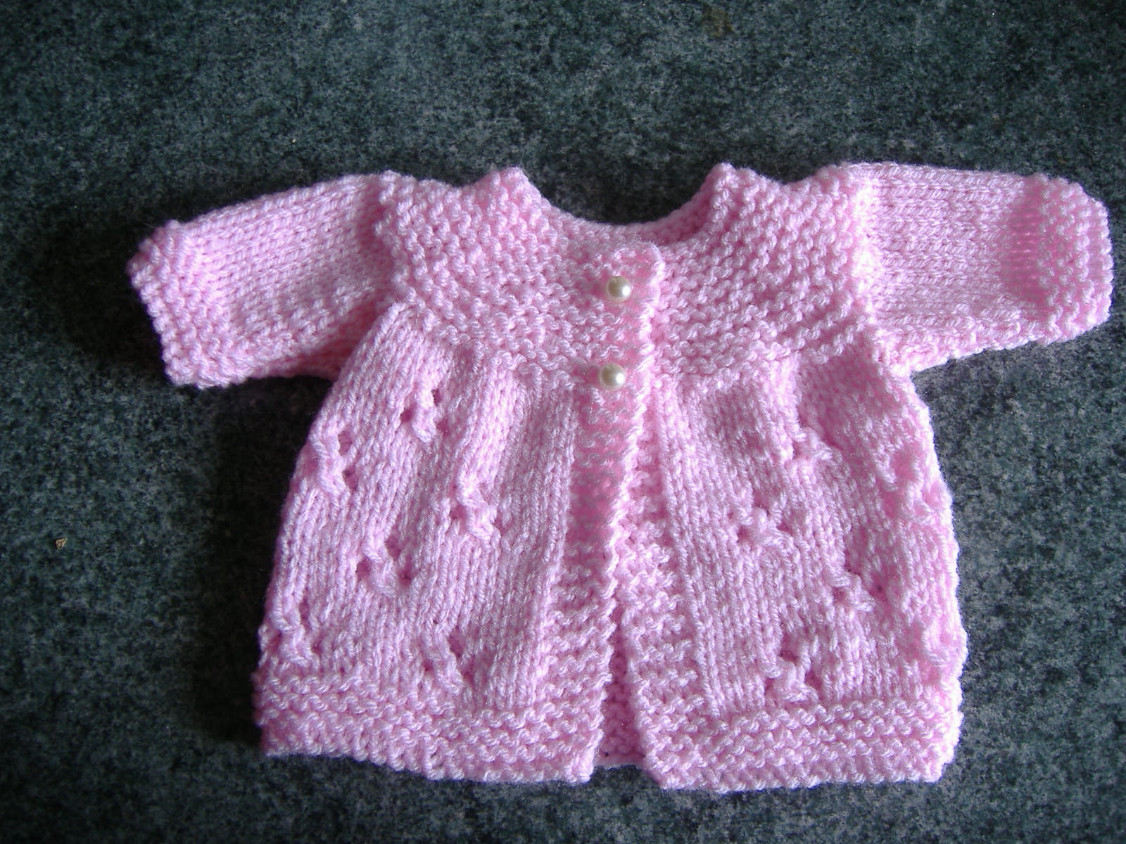 Marianna's Lazy Daisy Days: Premature Baby Jackets