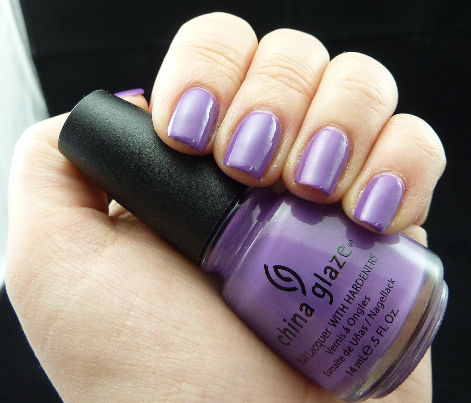 Jas\'s Blingtastic Nails: China Glaze Spontaneous and Purple ...