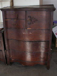 Tall Antique Dresser  *SOLD*