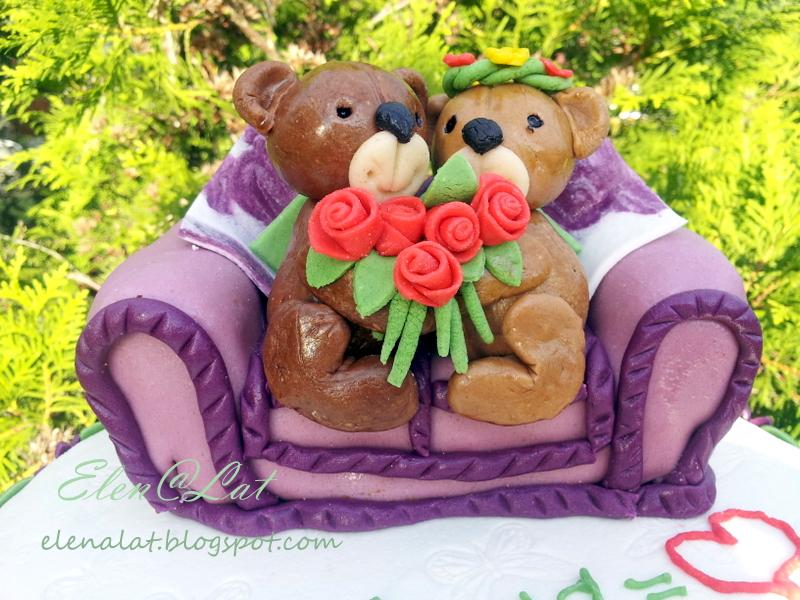 Sweet and not sweet торт на годовщину свадьбы