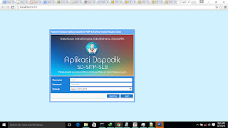 Password Database Aplikasi Dapodik SD-SMP-SLB 4.0 Get by Achmad Husaini, S.Kom
