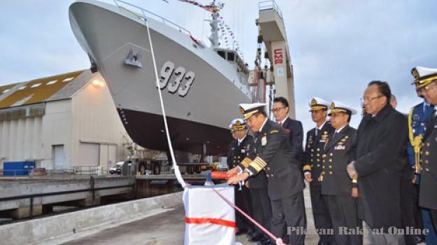 TNI AL Luncurkan Kapal Survei BHO-1