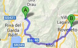 https://maps.google.fi/maps?saddr=Arco,+TN,+Italia&daddr=Via+Vallunga+II,+24,+Rovereto,+TN,+Italia&hl=fi&ll=45.95115,11.093445&spn=0.634943,1.586151&sll=45.989329,11.201935&sspn=0.634506,1.586151&geocode=FaWmvAIdyBmmACmvNcRcVhGCRzGRnQM9NdrWvA%3BFaZZvAIdLqaoACk1oC0MrA6CRzFJlD2-cW_kvA&oq=Via+Vallunga+II,+24&dirflg=w&mra=ls&t=m&z=10