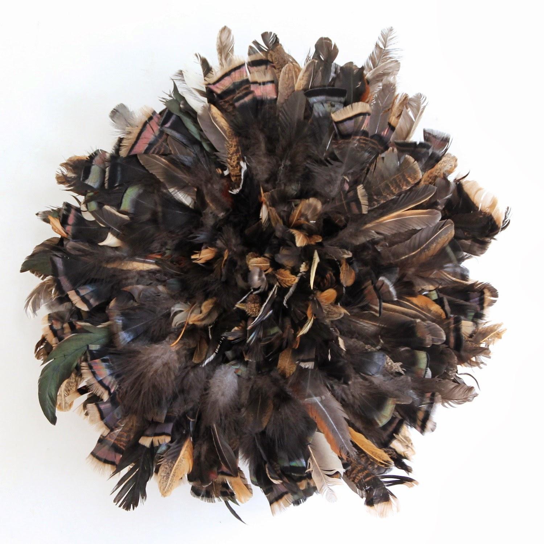 Mini Natural Wild Black Juju Hat KRONBALI