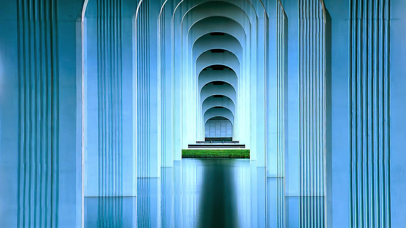 Under the Intracoastal Waterway Bridge in Jacksonville, Florida (© Greg DiFranza/500px) 261